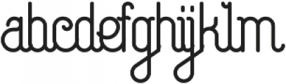 Capella otf (400) Font LOWERCASE