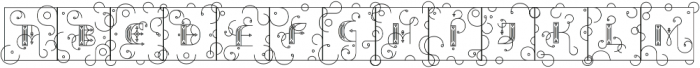 Capitals otf (400) Font LOWERCASE