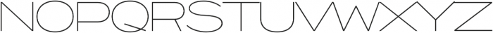 Capoon otf (100) Font UPPERCASE
