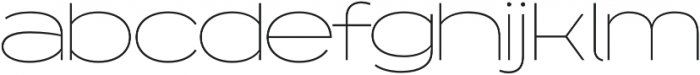 Capoon otf (100) Font LOWERCASE