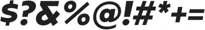 Caprina ExtraBold It otf (700) Font OTHER CHARS