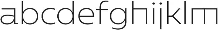 Caprina ExtraLight otf (200) Font LOWERCASE