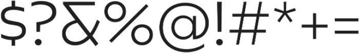 Caprina Light otf (300) Font OTHER CHARS