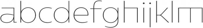 Caprina Thin otf (100) Font LOWERCASE