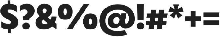 Captura Black otf (900) Font OTHER CHARS