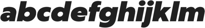 Captura Heavy Italic otf (800) Font LOWERCASE