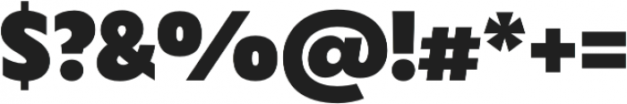 Captura Heavy otf (800) Font OTHER CHARS