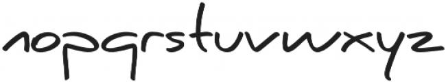 Caraban Regular otf (400) Font LOWERCASE