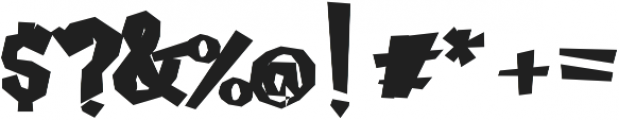 Caramello Extended otf (400) Font OTHER CHARS