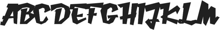 Caramello Extended otf (400) Font UPPERCASE