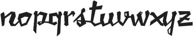 Caramello otf (400) Font LOWERCASE