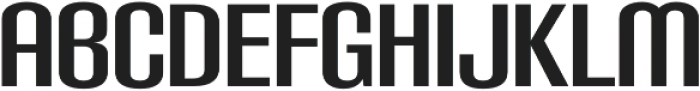 Carbon Bold otf (700) Font LOWERCASE