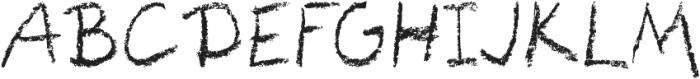 CarbonScript otf (400) Font UPPERCASE