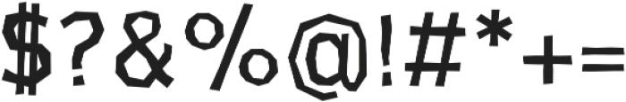 CardboardCat otf (400) Font OTHER CHARS