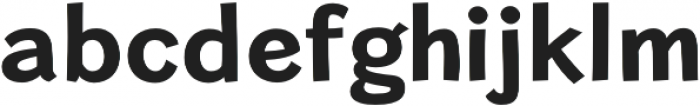 Cardigan Bold otf (700) Font LOWERCASE
