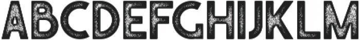 Caredrock 02 otf (400) Font UPPERCASE