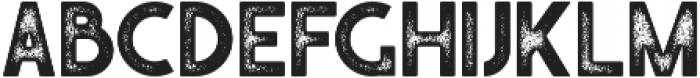 Caredrock 03 otf (400) Font UPPERCASE