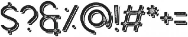 Caredrock Light Shadow 01 otf (300) Font OTHER CHARS