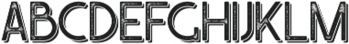Caredrock Light Shadow 01 otf (300) Font LOWERCASE