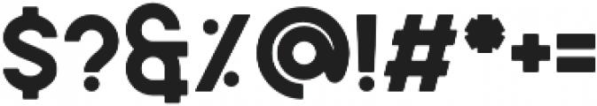 Caredrock otf (400) Font OTHER CHARS