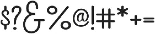 Carine Sans Caps otf (400) Font OTHER CHARS