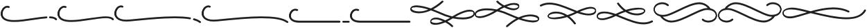 Carine Swash otf (400) Font LOWERCASE