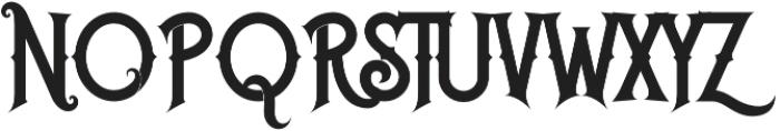 Caringin otf (400) Font UPPERCASE