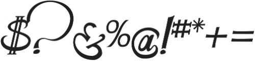 CarlinersSwash-Swash otf (400) Font OTHER CHARS
