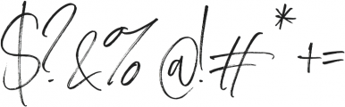 Carlinet otf (400) Font OTHER CHARS
