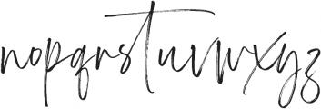 Carlinet otf (400) Font LOWERCASE