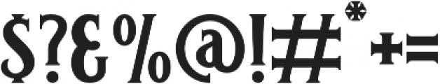 Carlingford Carlingford Regular otf (400) Font OTHER CHARS