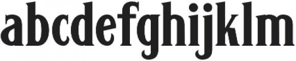 Carlingford Carlingford Regular otf (400) Font LOWERCASE