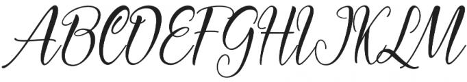 Carlington otf (400) Font UPPERCASE