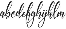 Carlington otf (400) Font LOWERCASE