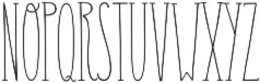 Carlino Serif Regular otf (400) Font UPPERCASE