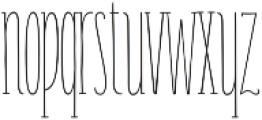 Carlino Serif Regular otf (400) Font LOWERCASE
