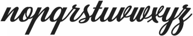 Carlisle otf (400) Font LOWERCASE