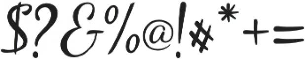 Carlita Script otf (400) Font OTHER CHARS