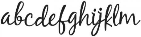 Carlita Script otf (400) Font LOWERCASE
