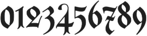 Carol Gothic otf (400) Font OTHER CHARS
