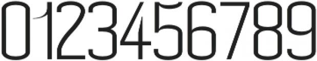 Carolin- Light otf (300) Font OTHER CHARS