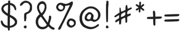 Caroni otf (400) Font OTHER CHARS