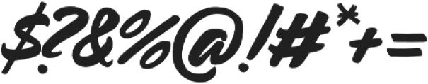 Carosello otf (400) Font OTHER CHARS