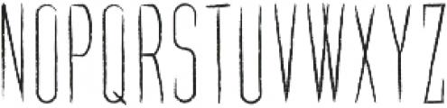 Carpathia ttf (400) Font UPPERCASE