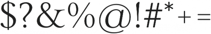 Carrig Basic Display otf (400) Font OTHER CHARS