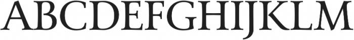 Carrig Basic otf (400) Font UPPERCASE