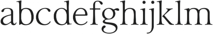 Carrig Display otf (400) Font LOWERCASE