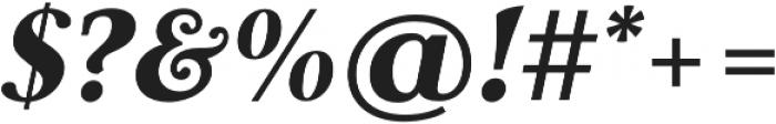 Carrig Pro Black Italic otf (900) Font OTHER CHARS