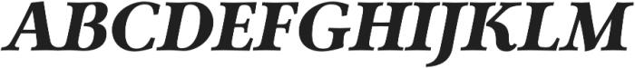 Carrig Pro Black Italic otf (900) Font UPPERCASE