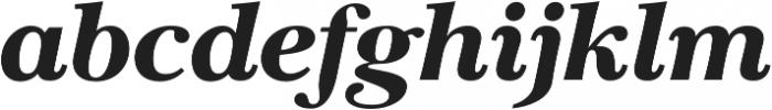 Carrig Pro Black Italic otf (900) Font LOWERCASE